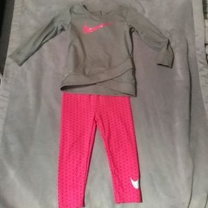 2 18 months Nike outfits